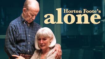 Horton Foote's: Alone